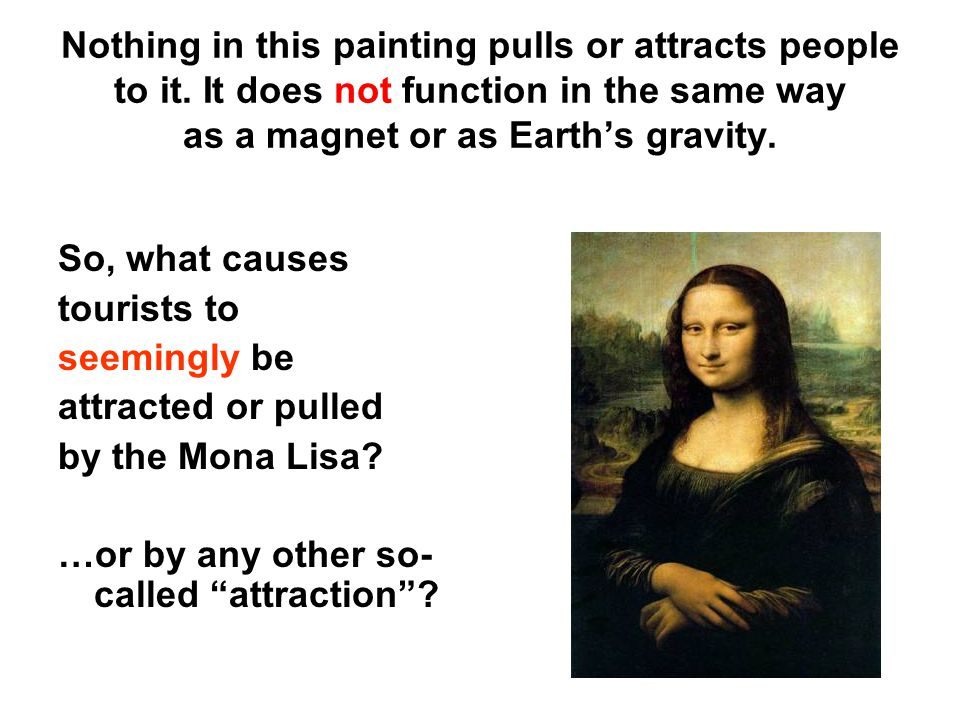 Nothing in this painting pulls or attracts people to it
