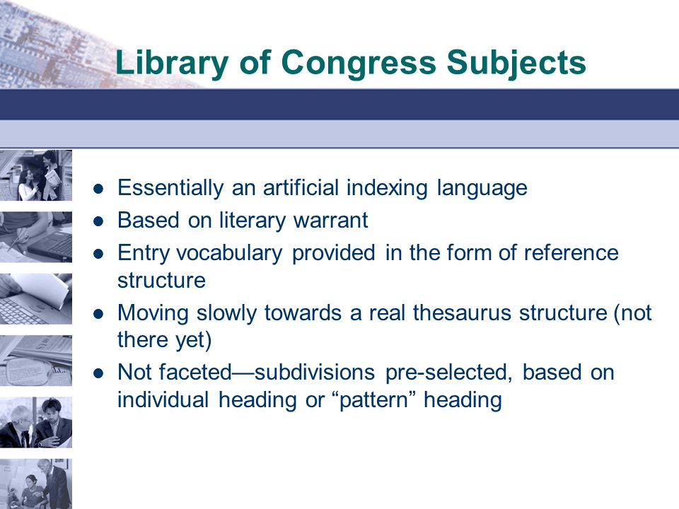 Library of Congress Subjects