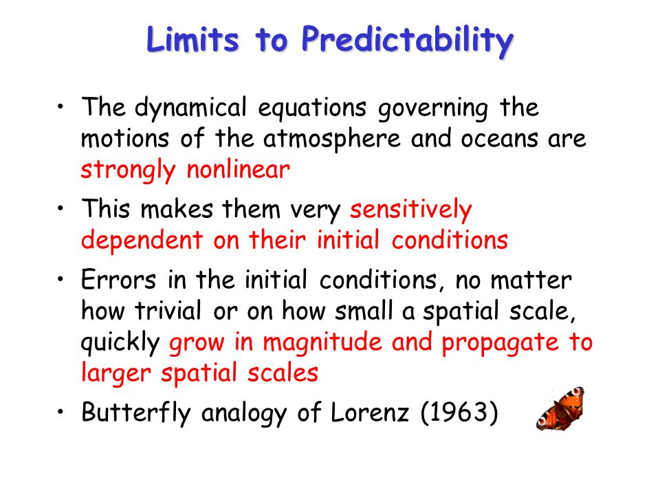 Limits to Predictability