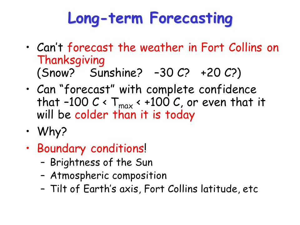 Long-term Forecasting