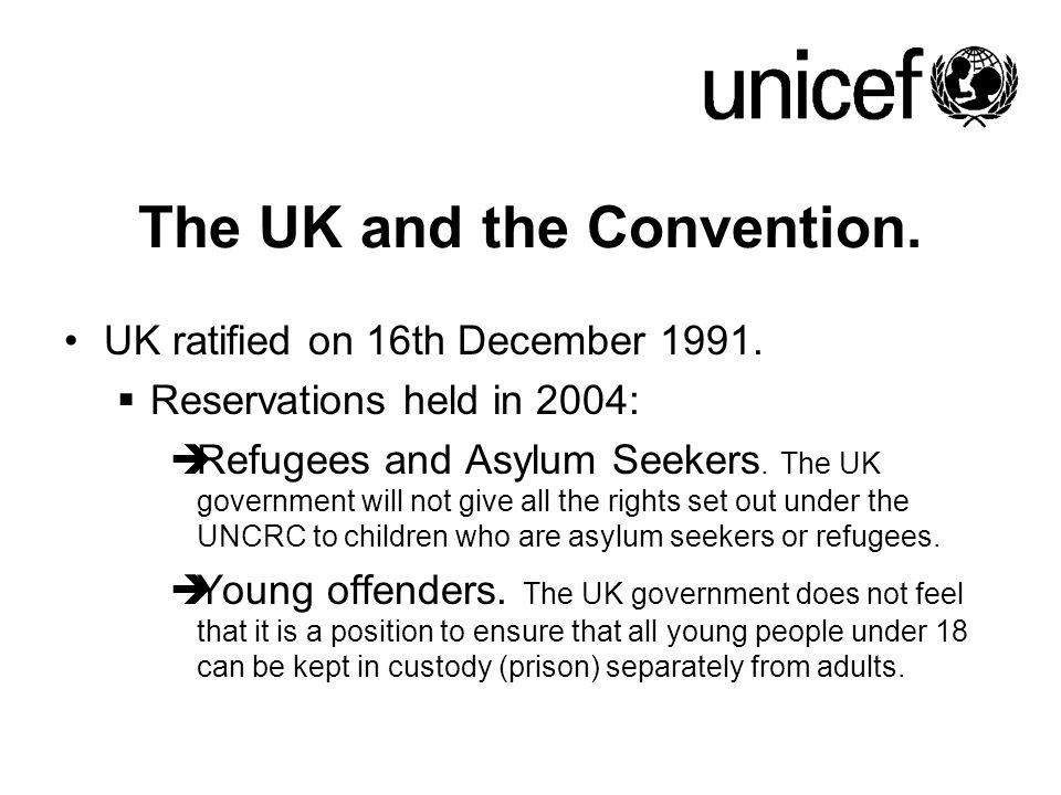 The UK and the Convention.