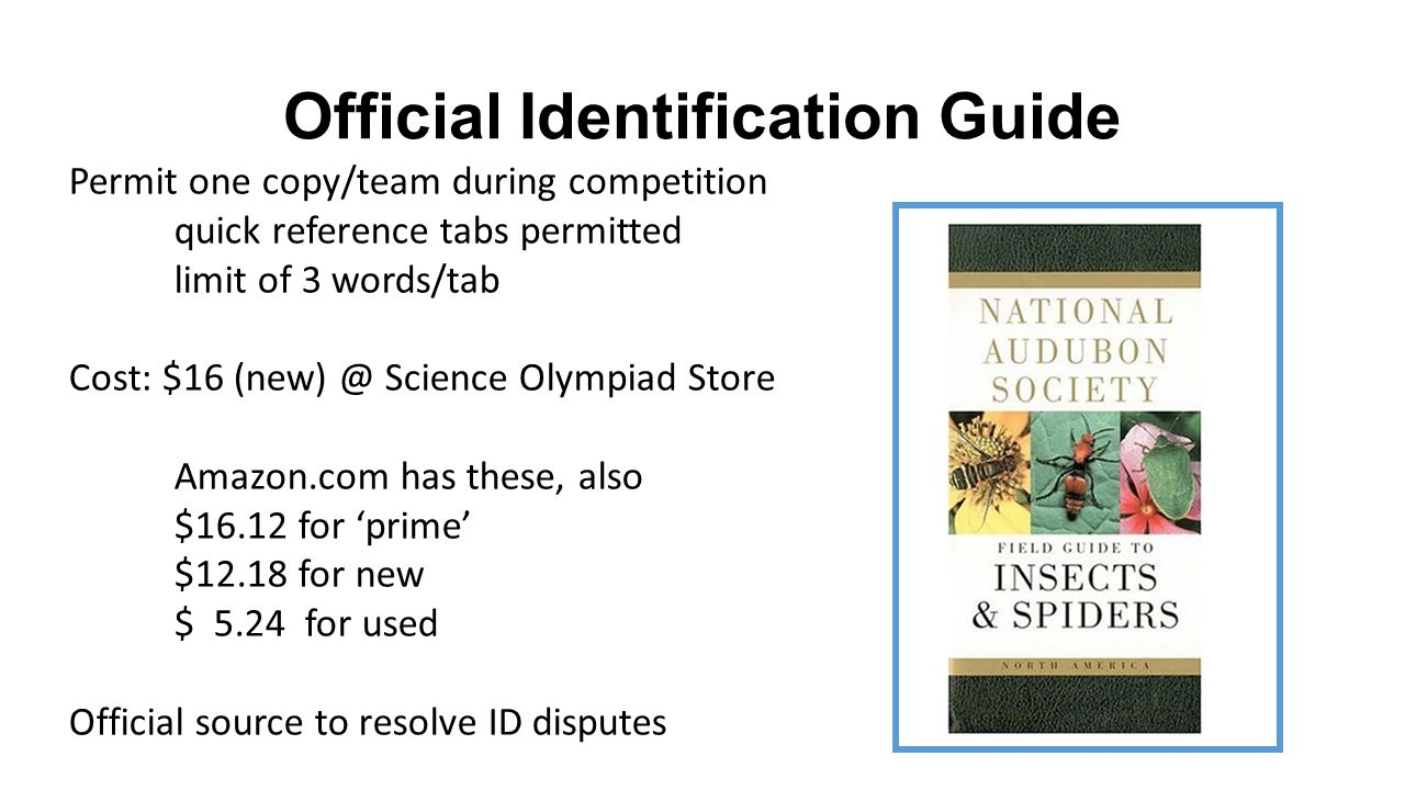 Official Identification Guide