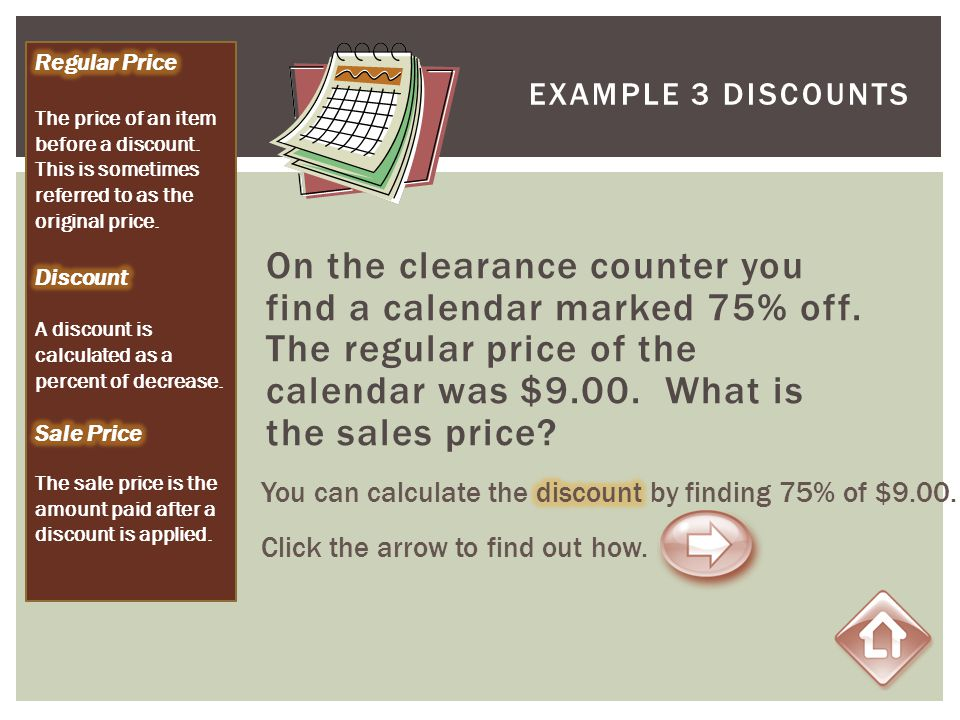 Regular Price The price of an item before a discount. This is sometimes referred to as the original price.