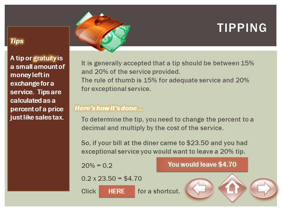 TipPING Tips.