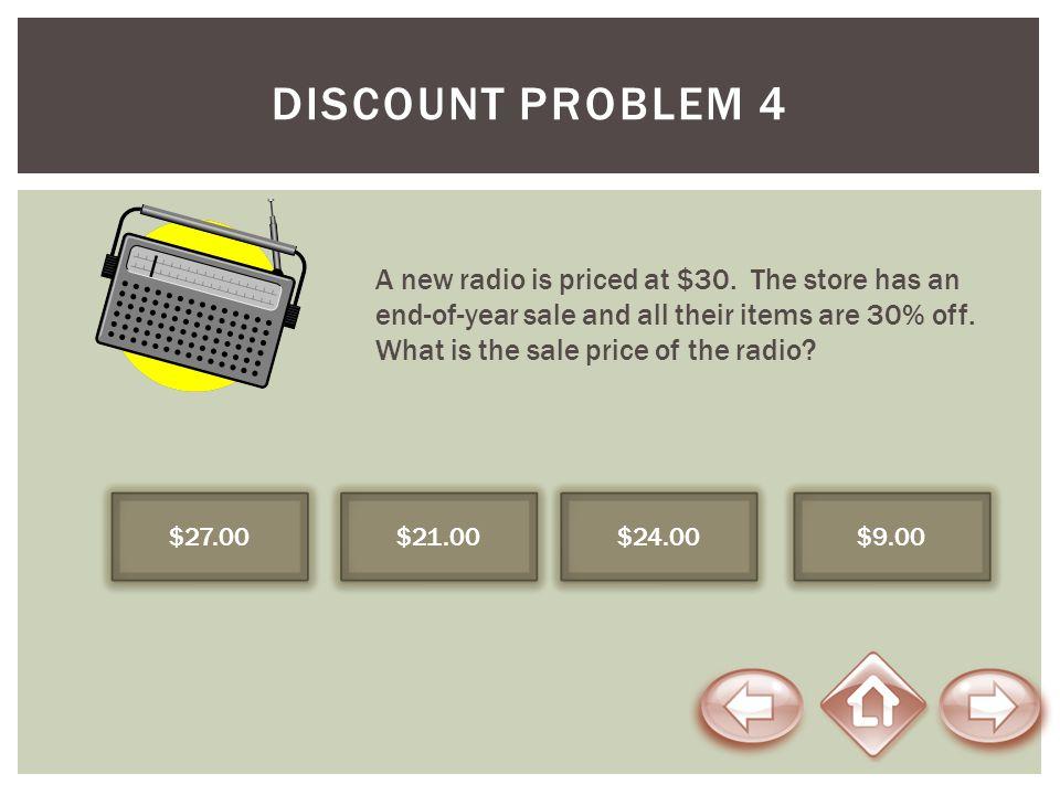 Discount Problem 4