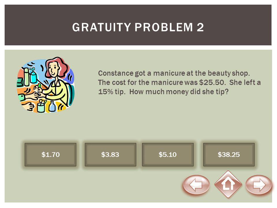Gratuity Problem 2