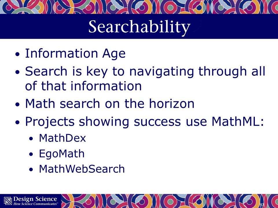 Searchability Information Age