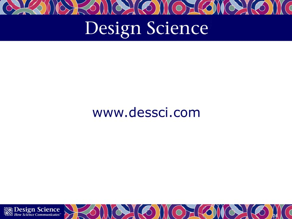 Design Science www.dessci.com