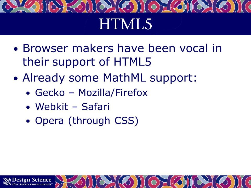 HTML5 Browser makers have been vocal in their support of HTML5