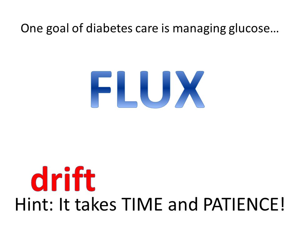 One goal of diabetes care is managing glucose…