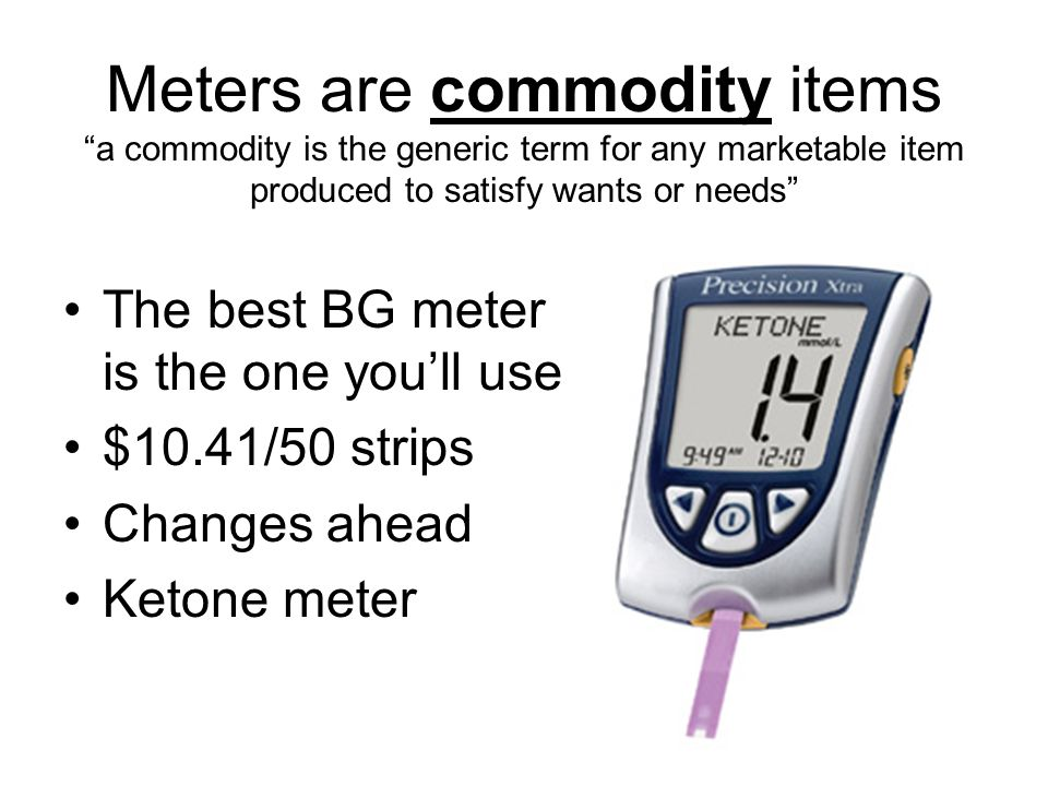 Meters are commodity items a commodity is the generic term for any marketable item produced to satisfy wants or needs