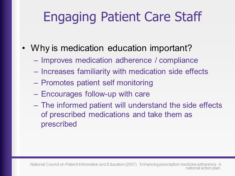 Engaging Patient Care Staff