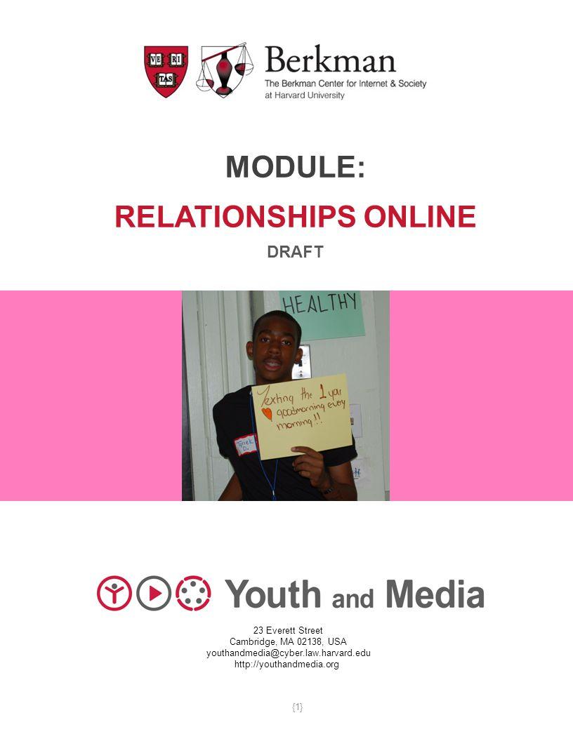 Module: Relationships Online