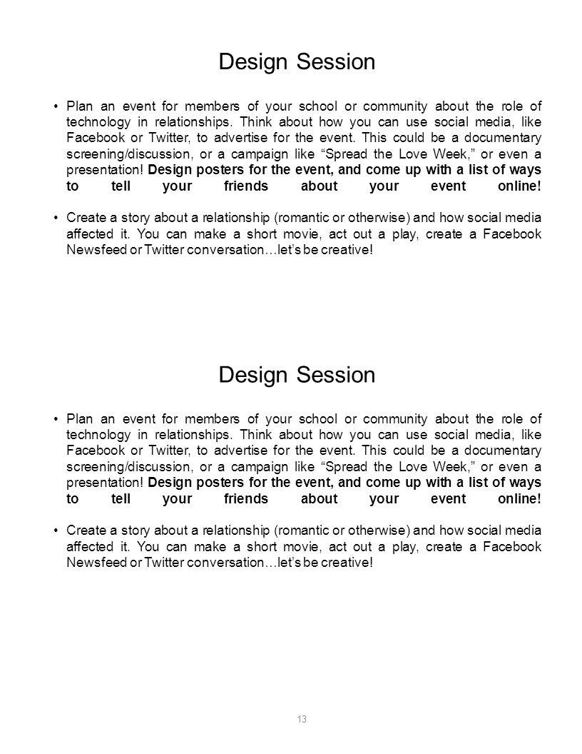 Design Session Design Session
