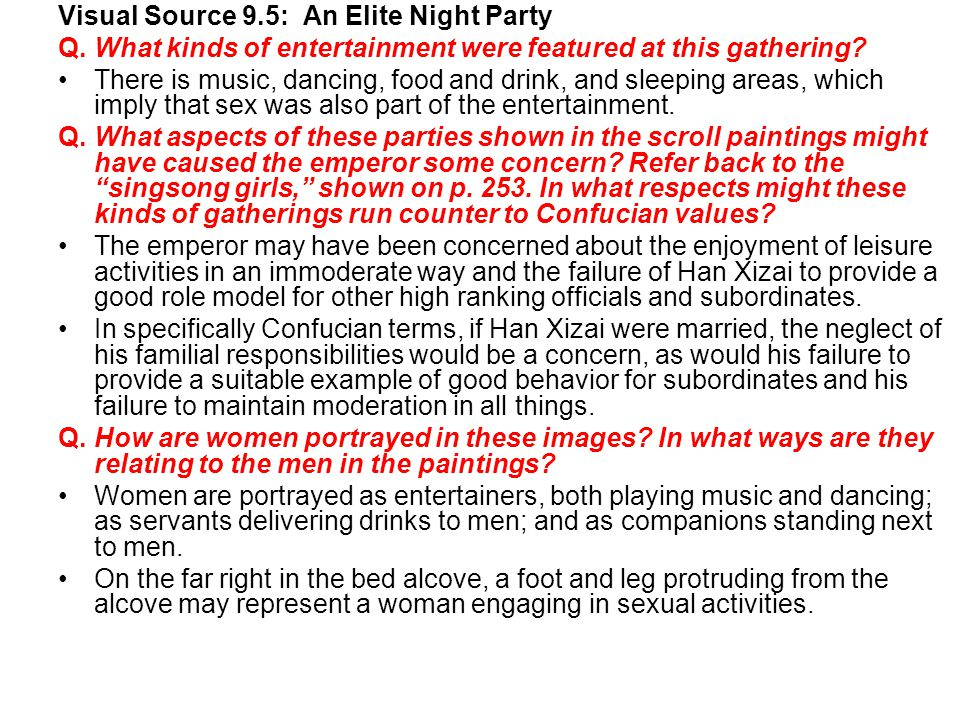 Visual Source 9.5: An Elite Night Party