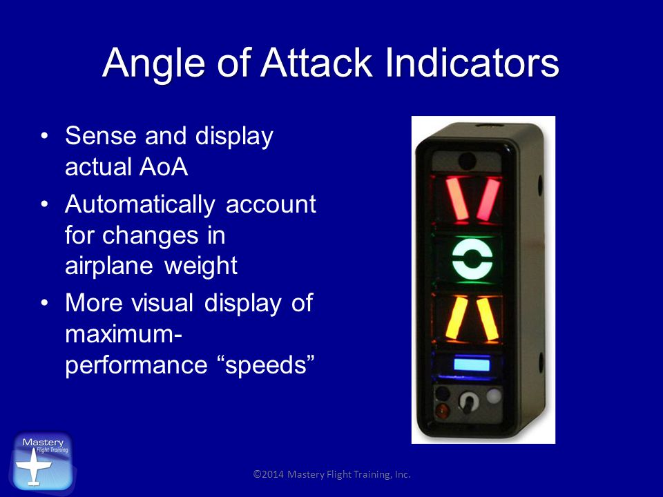 Angle of Attack Indicators