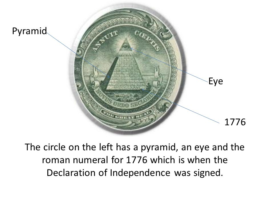 Pyramid Eye. 1776.