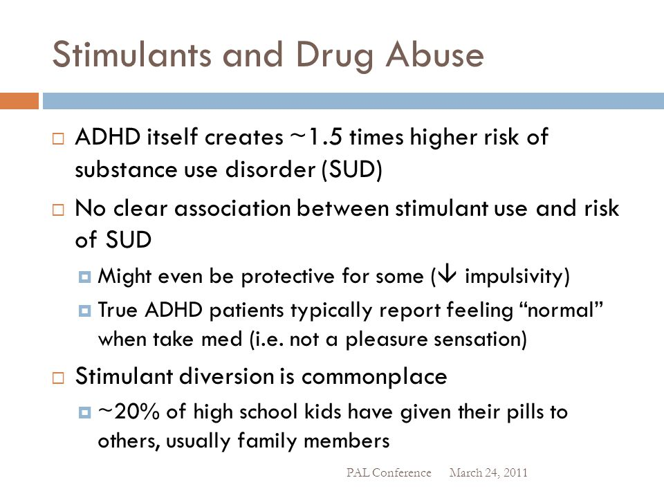 Stimulants and Drug Abuse