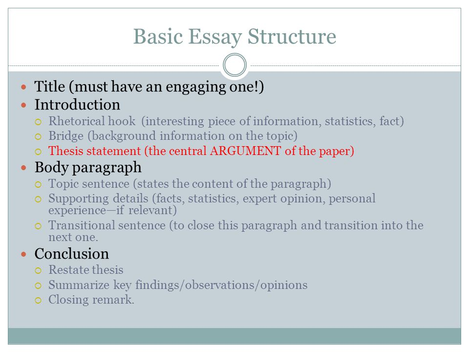 essay title structure Planning and structuring a tok essay choosing the right tok essay title writing your tok essay will be made considerably easier if you choose the right title.