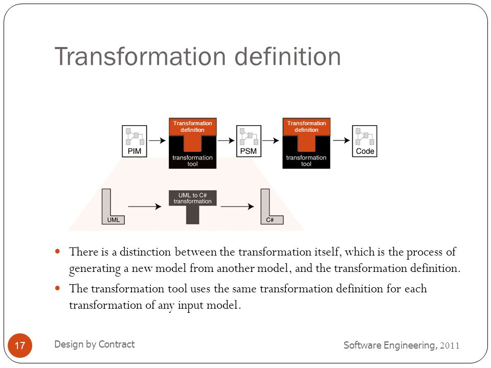Transformation definition