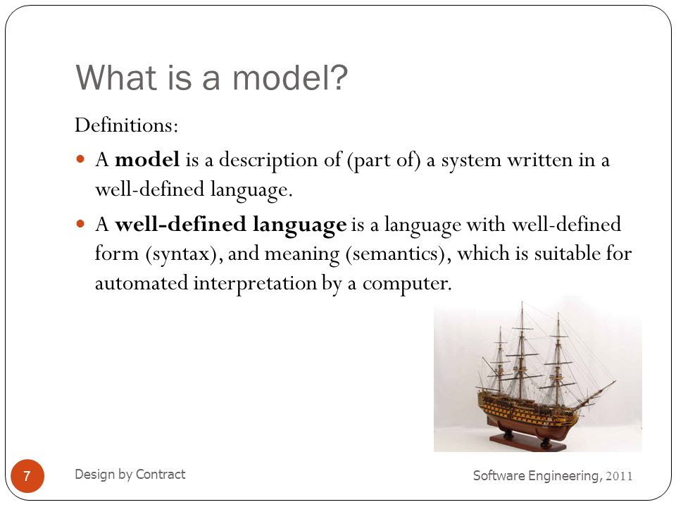 Figure 2-1. Models and languages