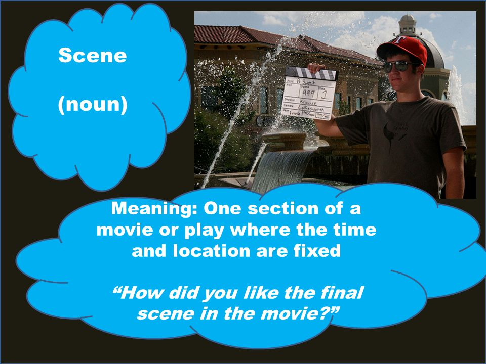 How did you like the final scene in the movie