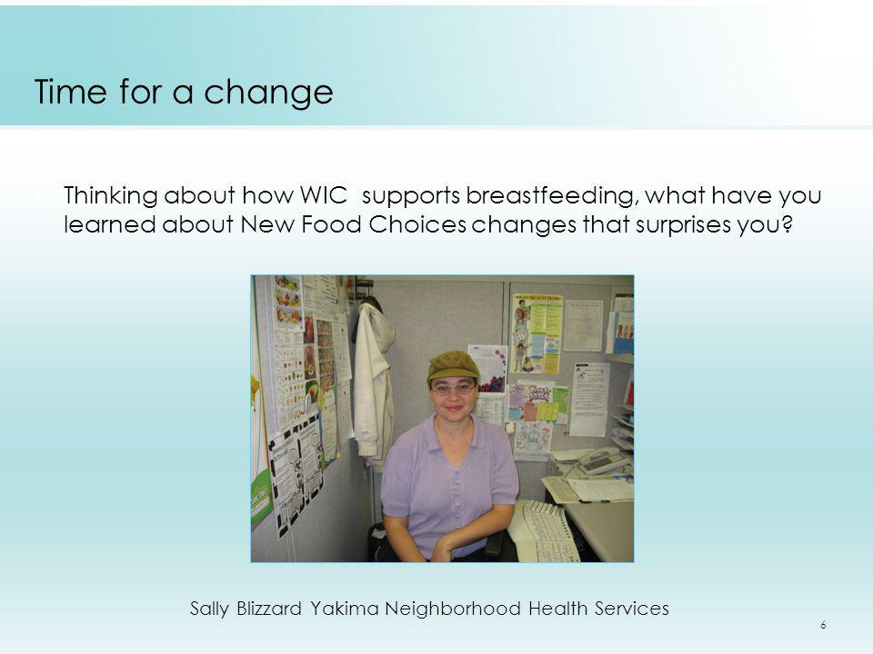 Sally Blizzard Yakima Neighborhood Health Services