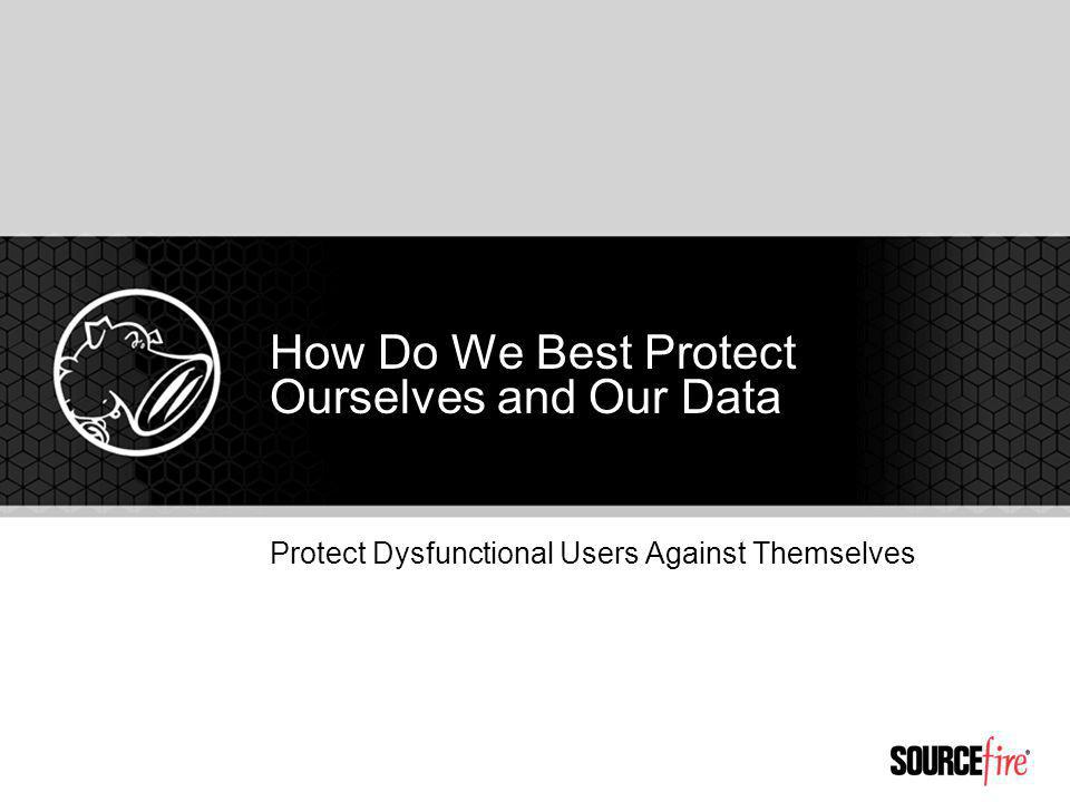 Protect Dysfunctional Users Against Themselves