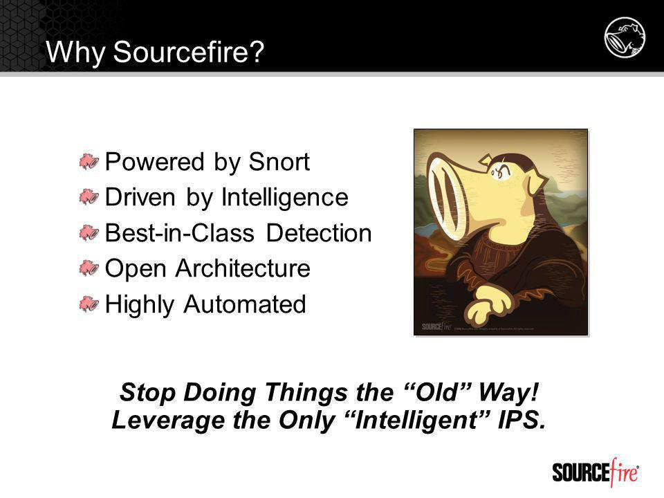 Stop Doing Things the Old Way! Leverage the Only Intelligent IPS.