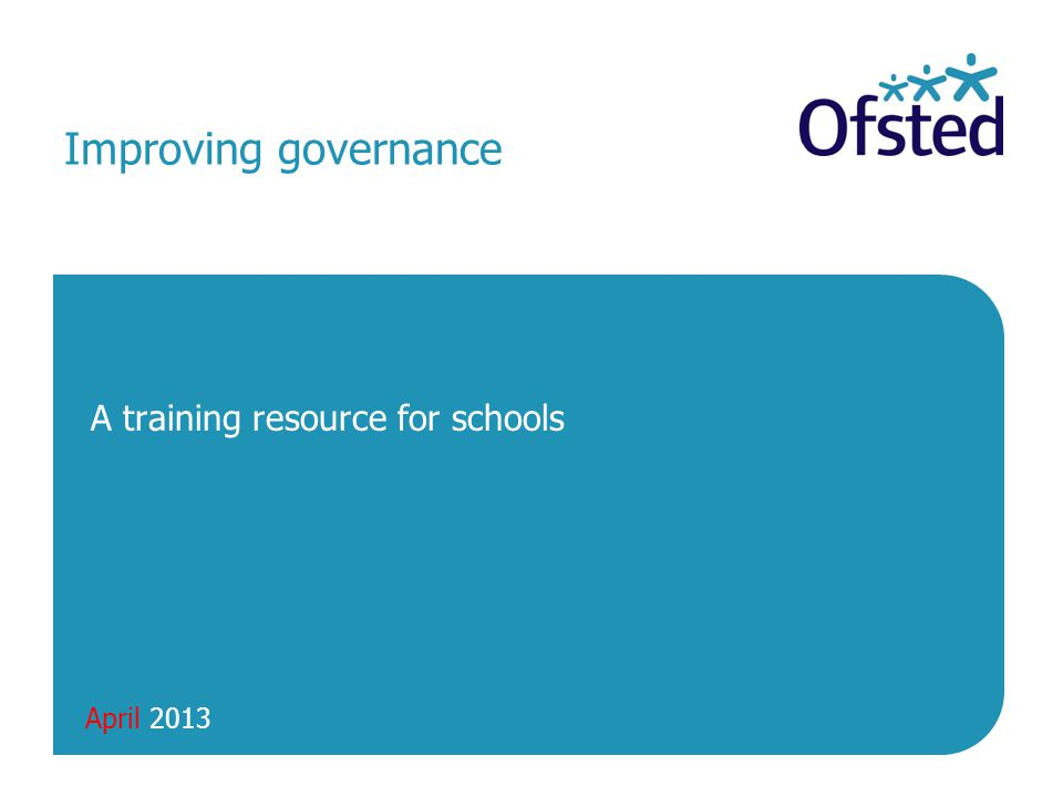 A training resource for schools