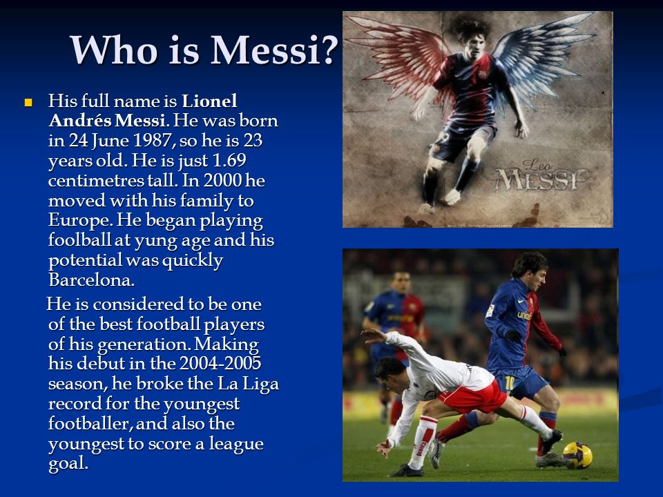 Who is Messi