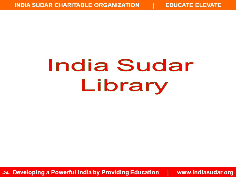 India Sudar Library 24