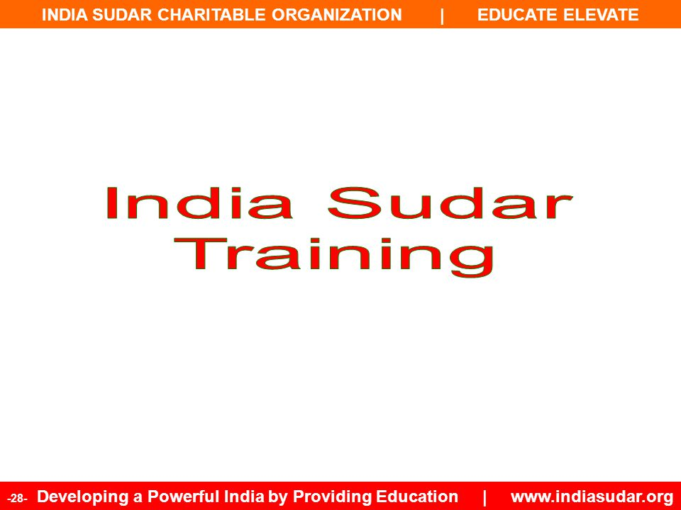 India Sudar Training 28
