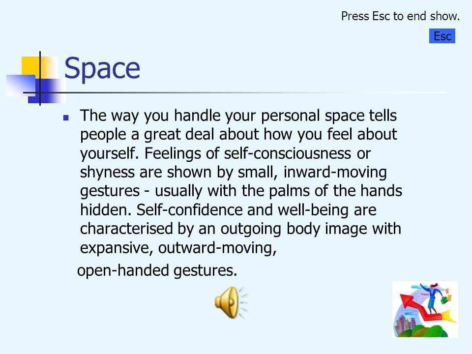 Press Esc to end show. Space. Esc.