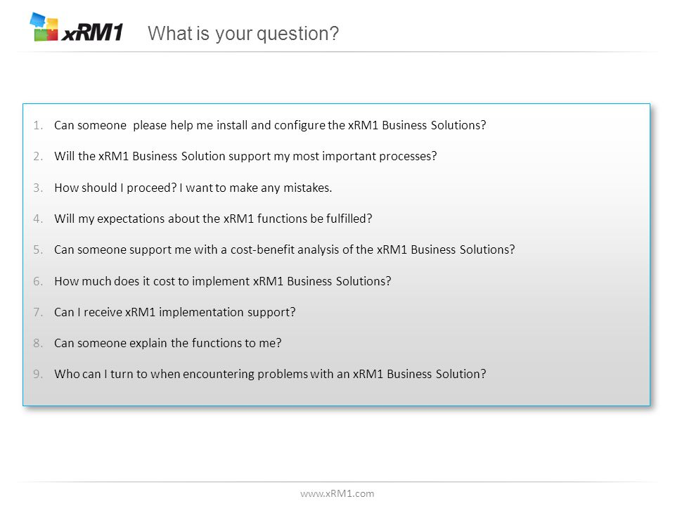 Global producer of Business Solutions for Microsoft CRM