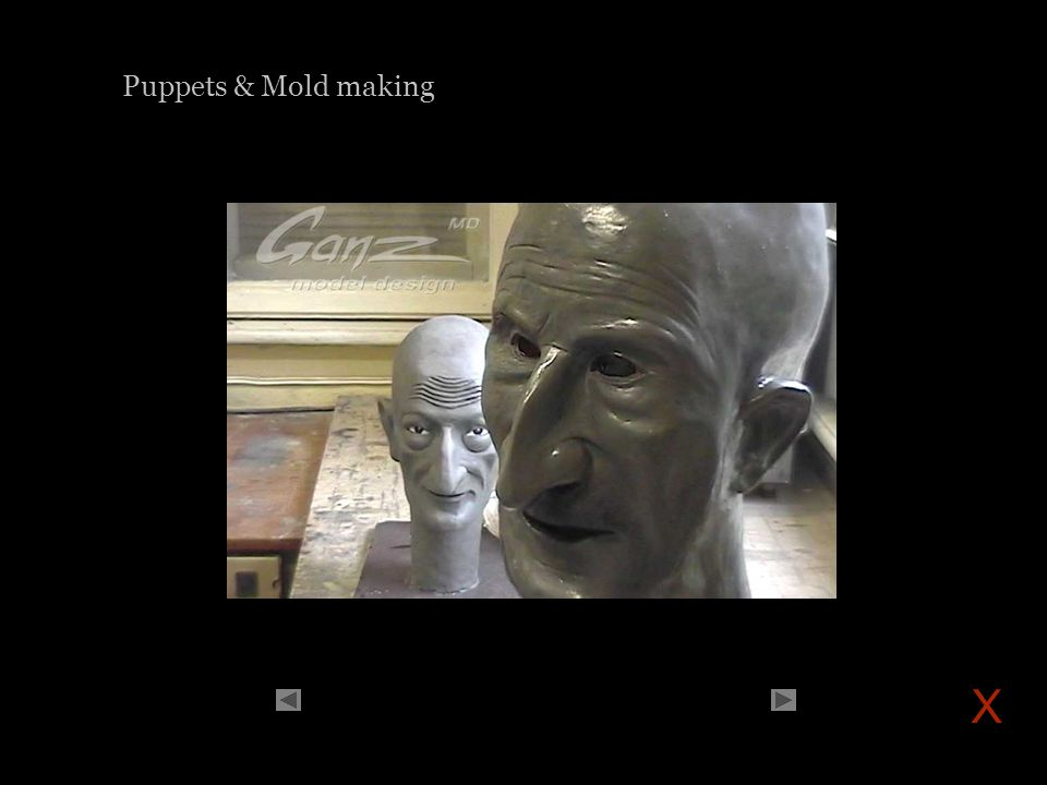 Puppets & Mold making X