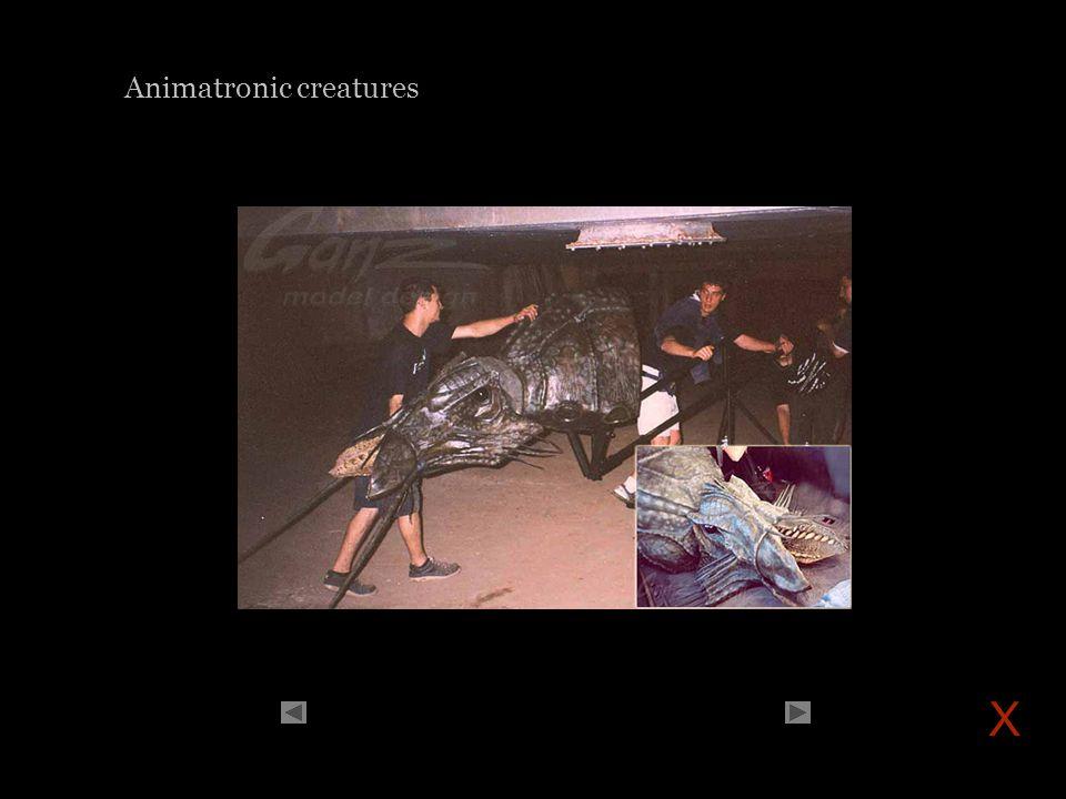 Animatronic creatures