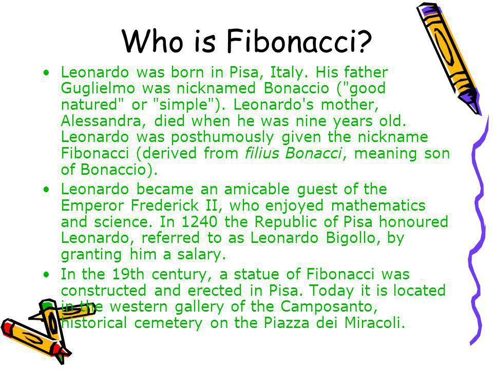 Who is Fibonacci