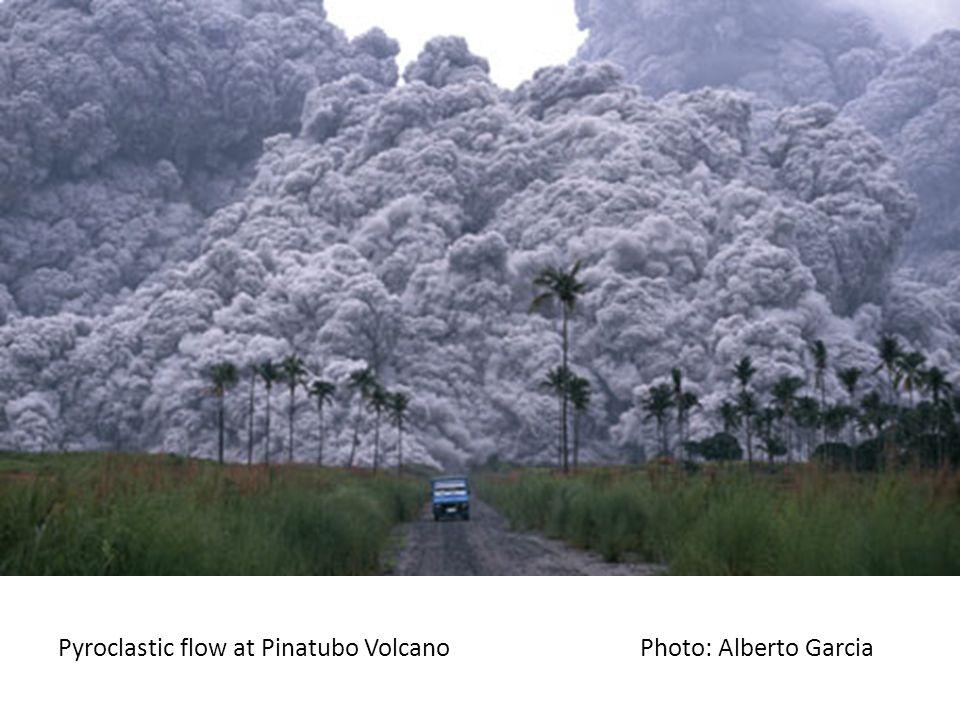 Pyroclastic flow at Pinatubo Volcano Photo: Alberto Garcia