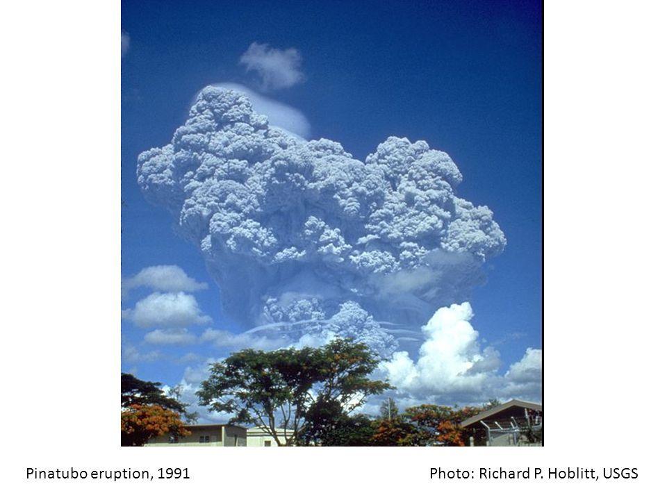 Pinatubo eruption, 1991 Photo: Richard P. Hoblitt, USGS