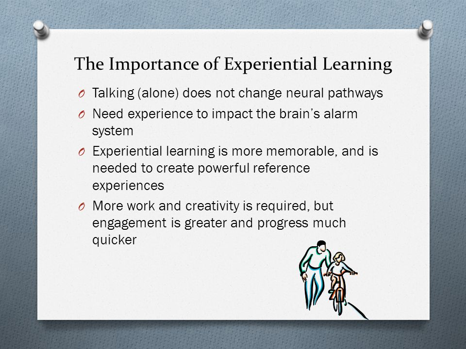 The Importance of Experiential Learning