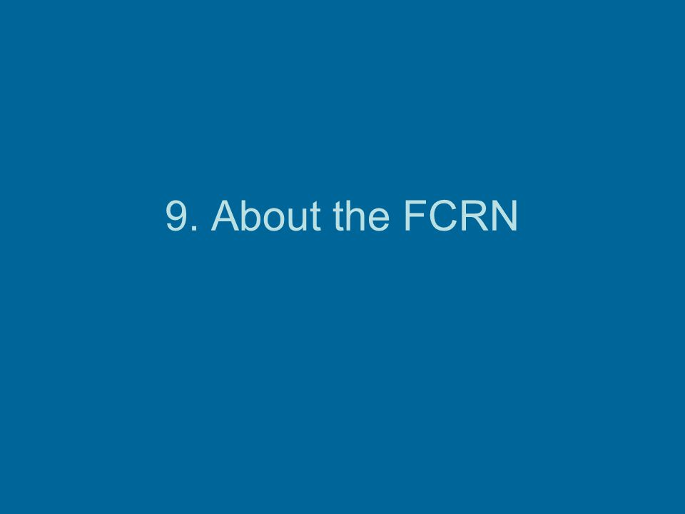 9. About the FCRN