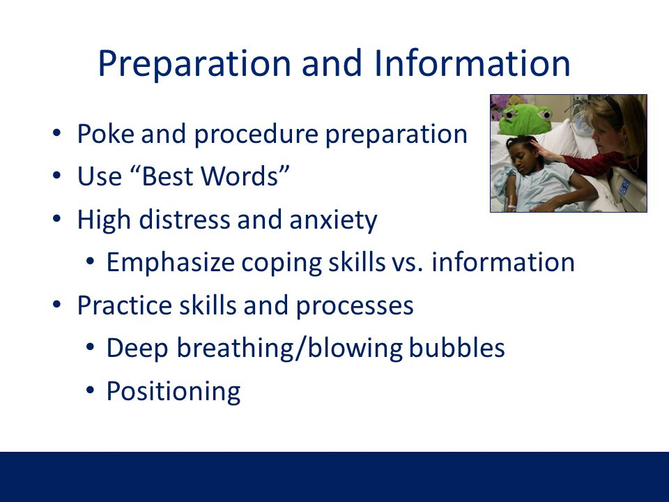 Preparation and Information