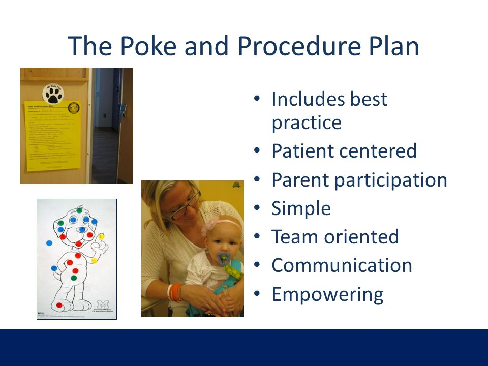 The Poke and Procedure Plan