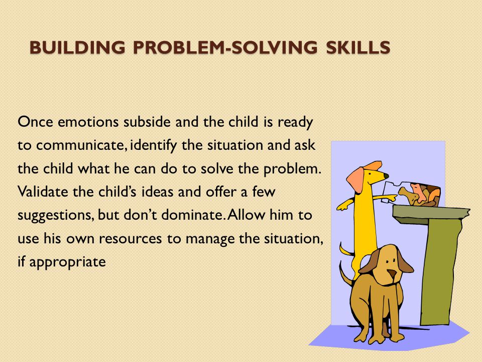 Building problem-solving skills