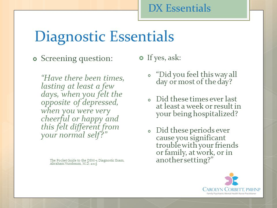 Diagnostic Essentials