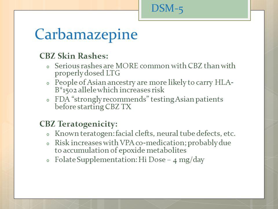 Carbamazepine Tegretol Blood Test