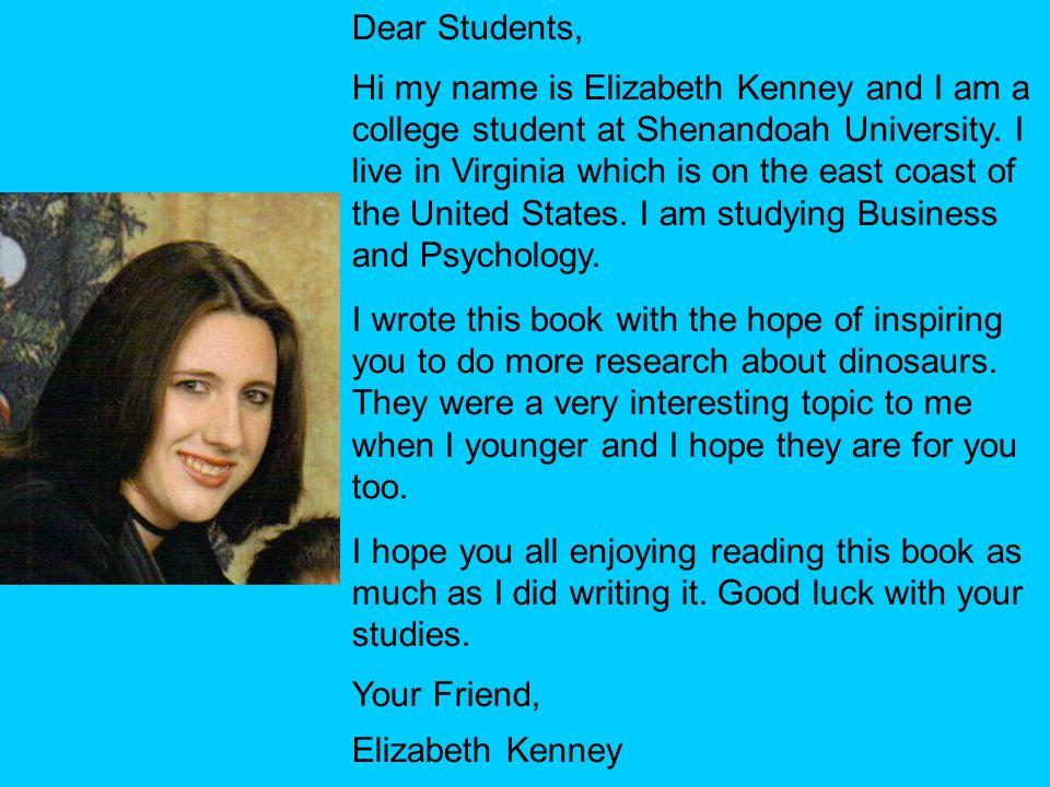 Dear Students,