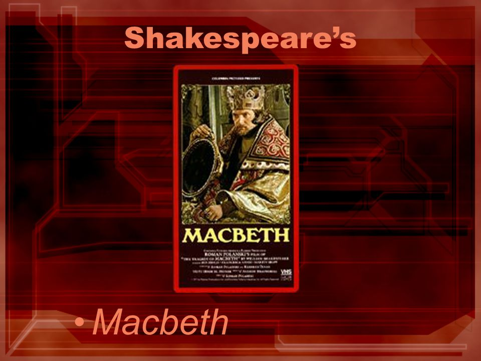 discuss shakespeare s presentation of macbeth s psychological Shakespeare's minds diseased: mental illness and its macbeth's visions and lady macbeth's sleepwalking, to 3 responses to shakespeare's minds.