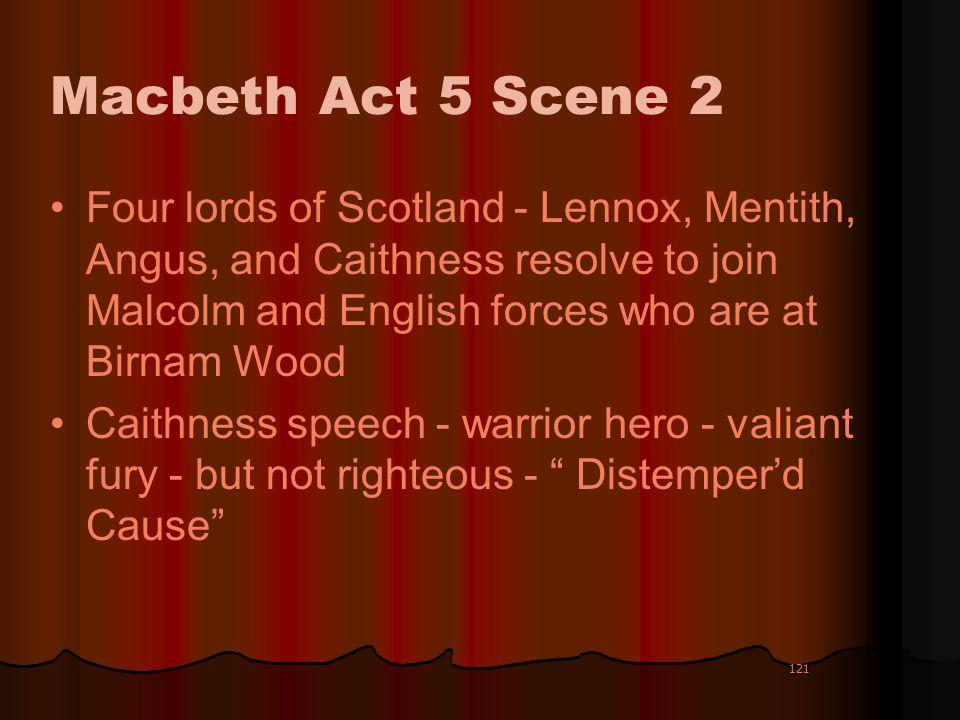 Macbeth Act 5 Scene 2